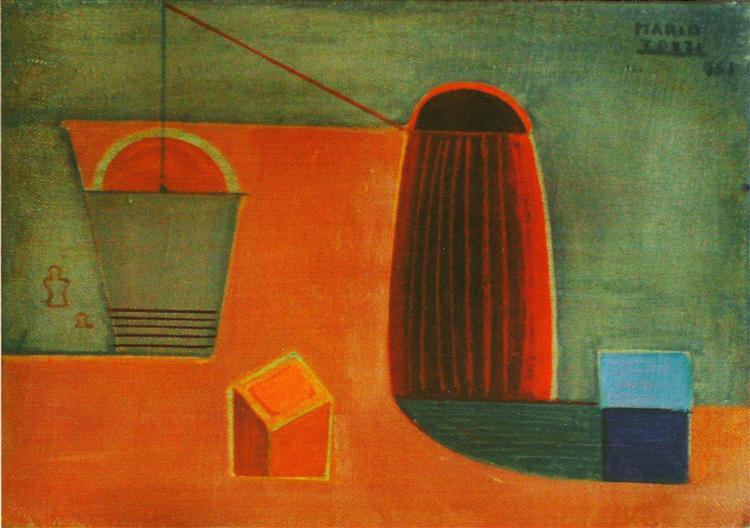 Il Secchio Sospeso, 1961 - Mario Tozzi