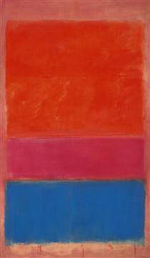No. 1 (Royal Red and Blue) - Mark Rothko