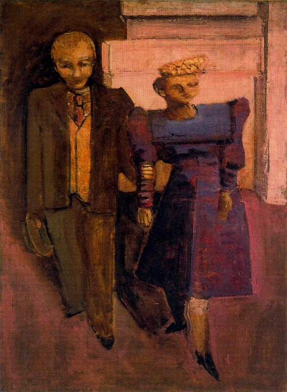Untitled (Standing Man and Woman), 1938