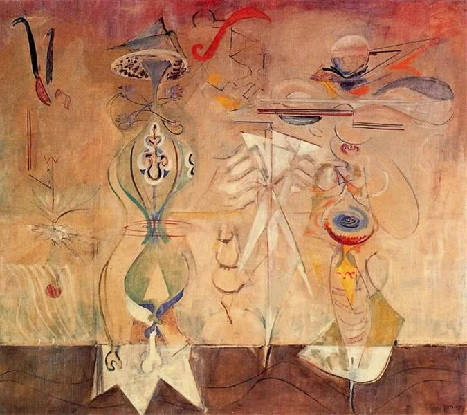 Slow Swirl at the Edge of the Sea, 1944 - Mark Rothko