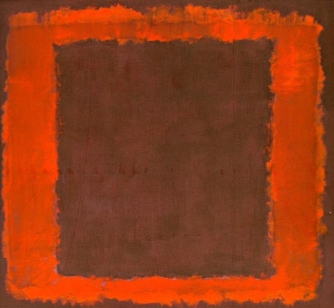 Untitled Mural for End Wall, 1959 - Mark Rothko