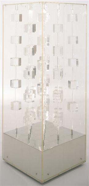 Structure Transparente, 1969 - Martha Boto