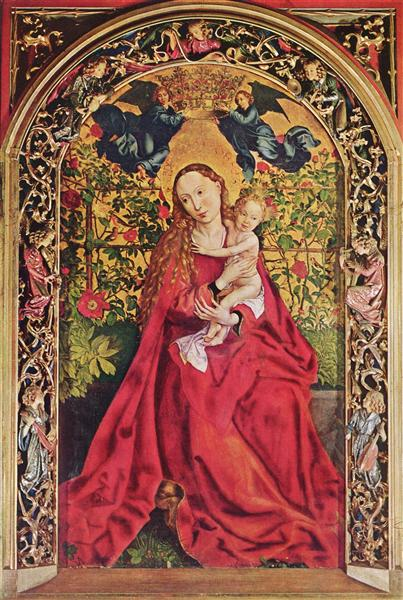 Madonna of the Rose Bower, 1473 - Martin Schongauer