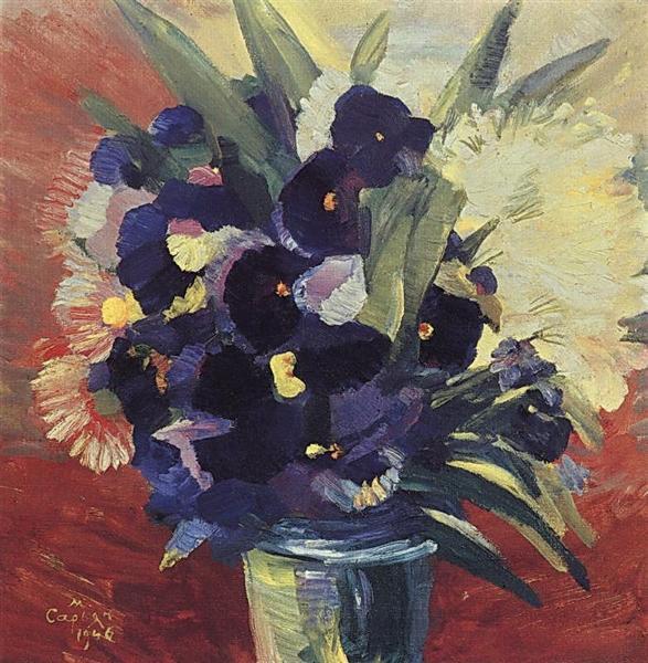 Bouquet of flowers, 1946 - Martiros Sarian