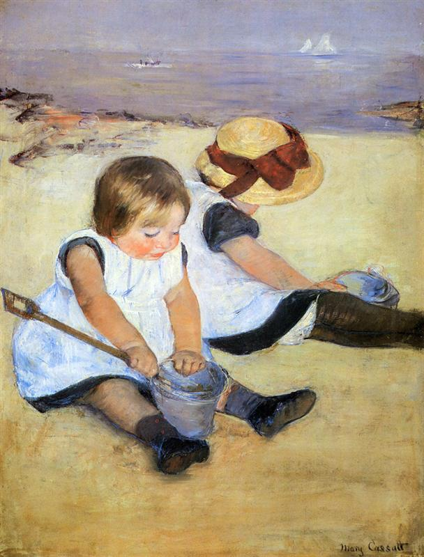https://uploads1.wikiart.org/images/mary-cassatt/children-playing-on-the-beach-1884.jpg!HalfHD.jpg