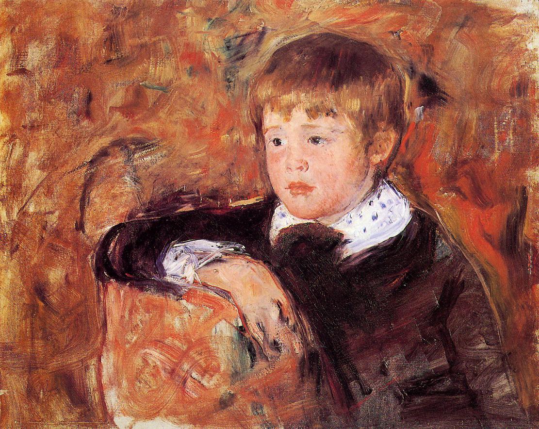 Master Robert Kelso Cassatt, c.1882 - Mary Cassatt - WikiArt.org