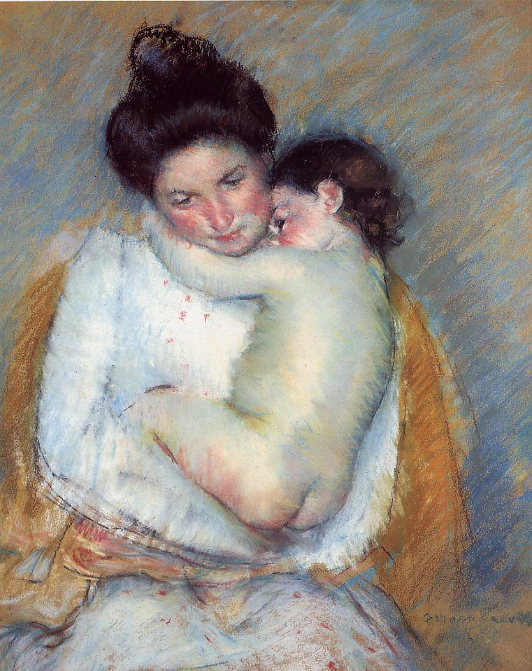 Little Art Poems: Mother and Child, 1900 Mary Cassatt