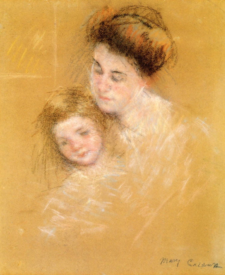 Mother and Child - Mary Cassatt - WikiArt.org ...