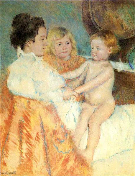 Mother Sara and the Baby, c.1902 - Mary Cassatt