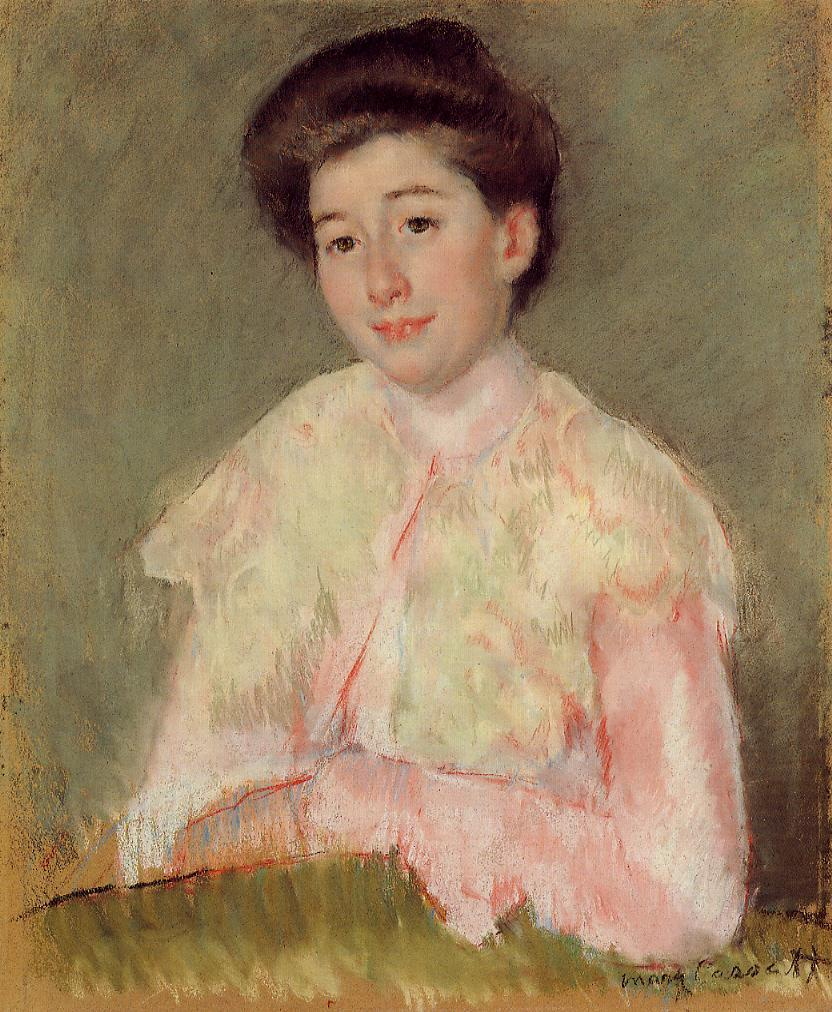 Portrait of a Lady - Mary Cassatt - WikiArt.org ...