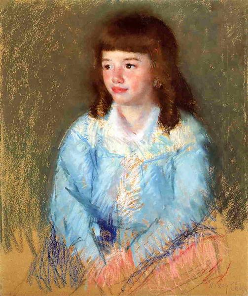 Young Boy in Blue, c.1906 - Mary Cassatt