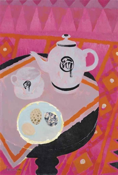 Chinese Teapot, 1989 - Mary Fedden