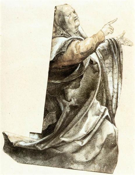 Complaining Pharisee, 1511 - Matthias Grünewald