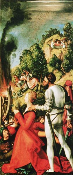 Heller Altarpiece (detail), 1507 - 1509 - Matthias Grünewald