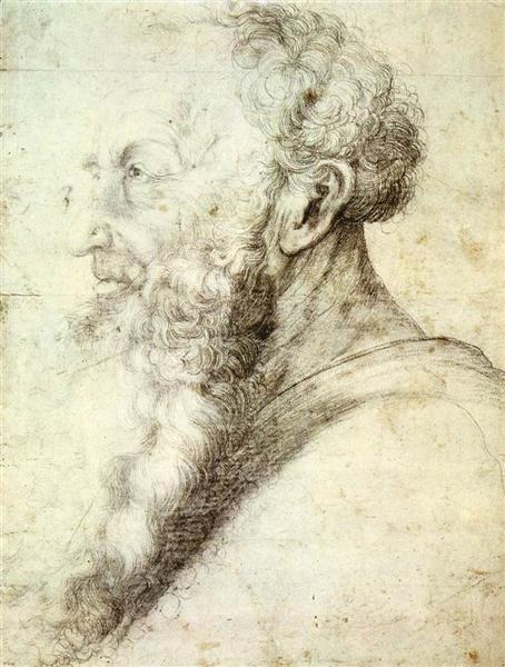 Portrait of Guido Guersi, 1512 - 1514 - Matthias Grünewald