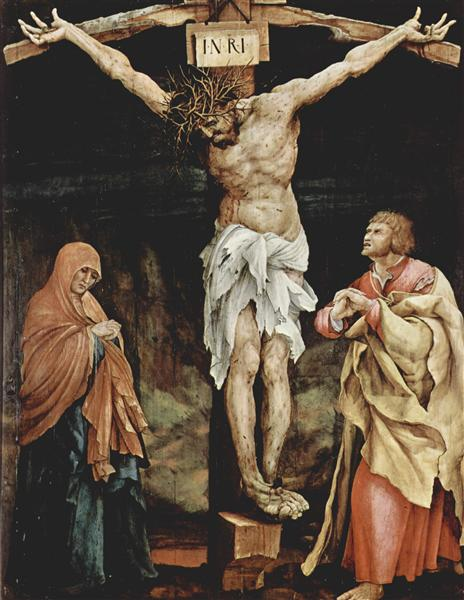 The Crucifixion, 1523 - 1524 - Matthias Grünewald