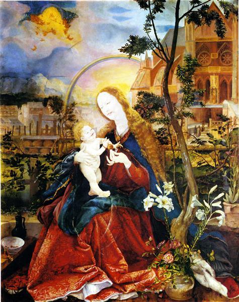 The Stuppach Madonna, c.1517 - c.1519 - Matthias Grünewald