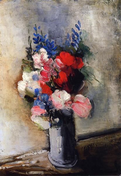 Bouquet of Flowers in a Vase - Maurice de Vlaminck