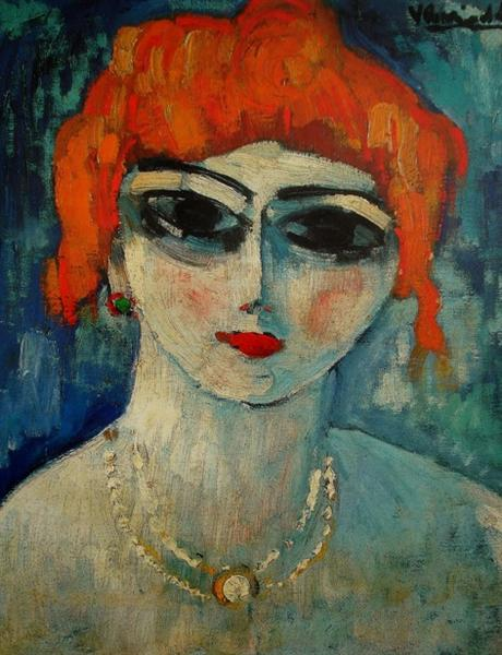 Portrait of a Woman - Maurice de Vlaminck