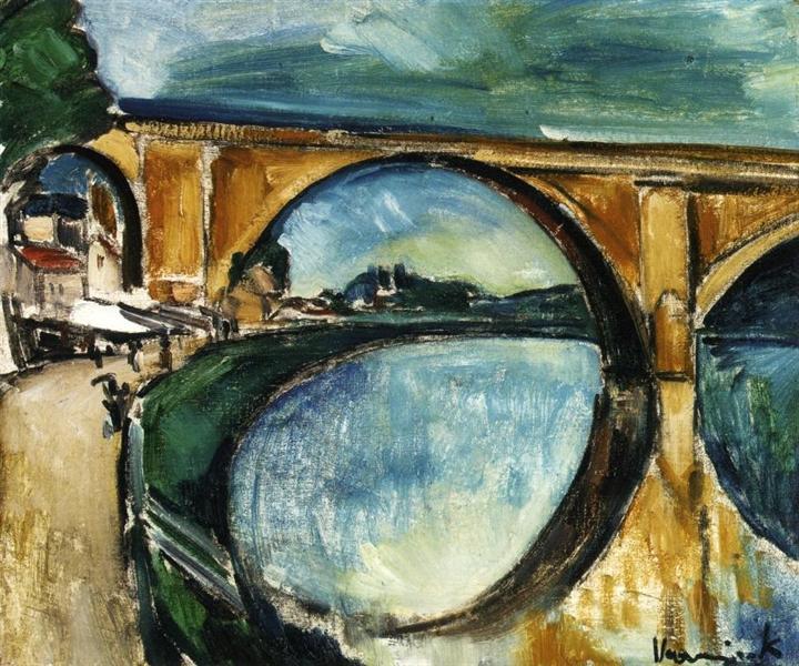 The Aqueduct at Nogent sur Marne, 1910 - 1911 - Maurice de Vlaminck