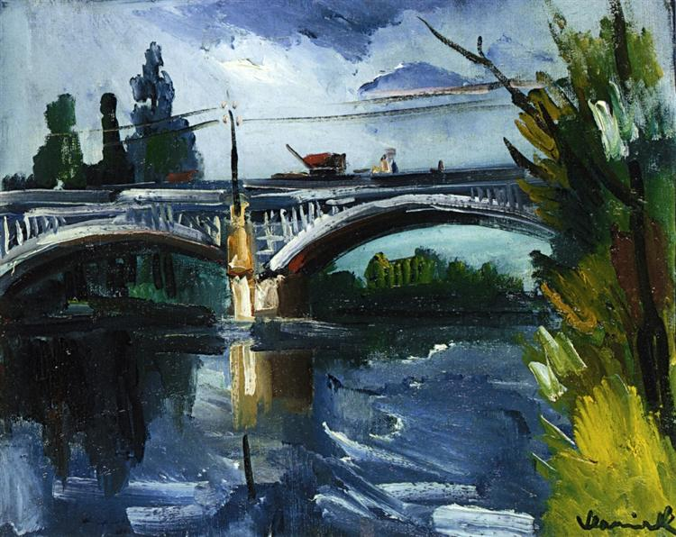 The Bridge, 1910 - Maurice de Vlaminck