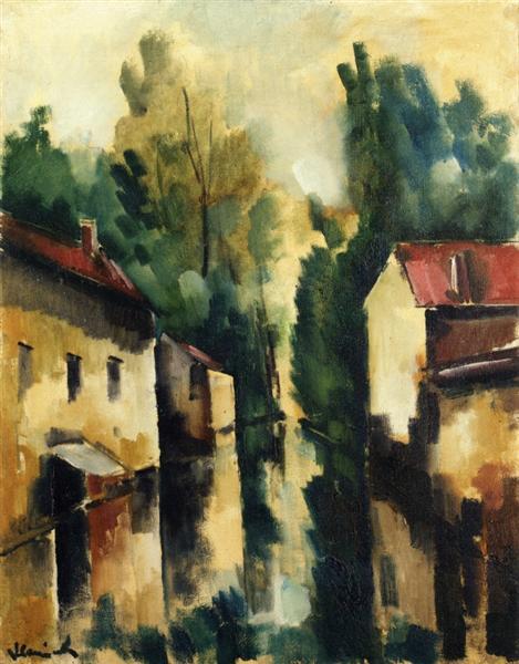 The Flodded Village, 1910 - Maurice de Vlaminck