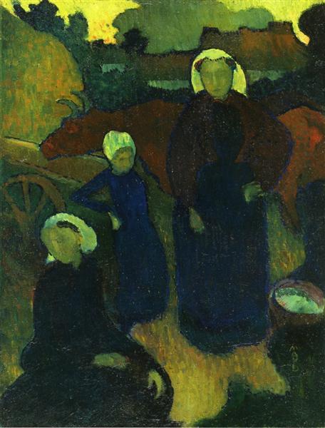 Bretons, c.1890 - 莫里斯·丹尼