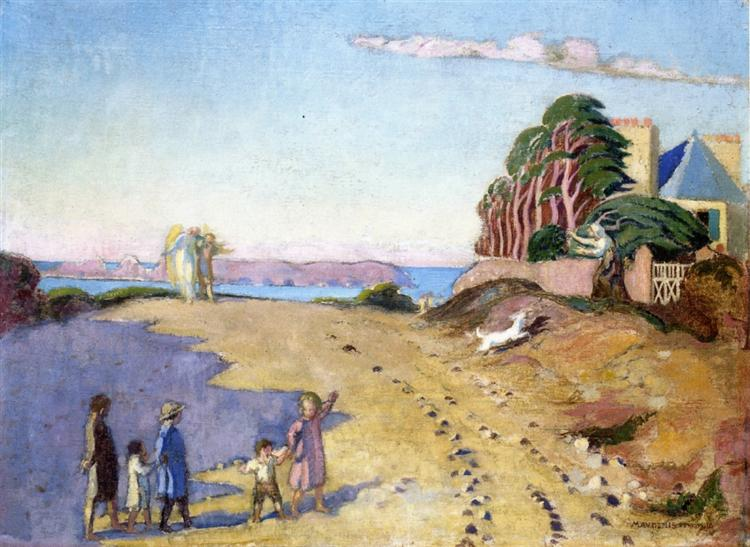 The Return of Young Tobie, 1918 - Maurice Denis