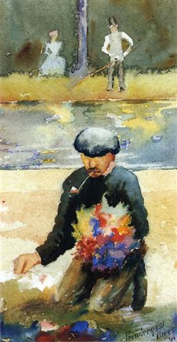 Picking Flowers - Maurice Prendergast