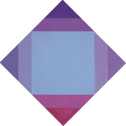 Radiazone violeta, 1973 - Max Bill