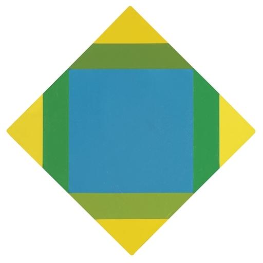 Strahlung zu gelb, 1972 - Max Bill