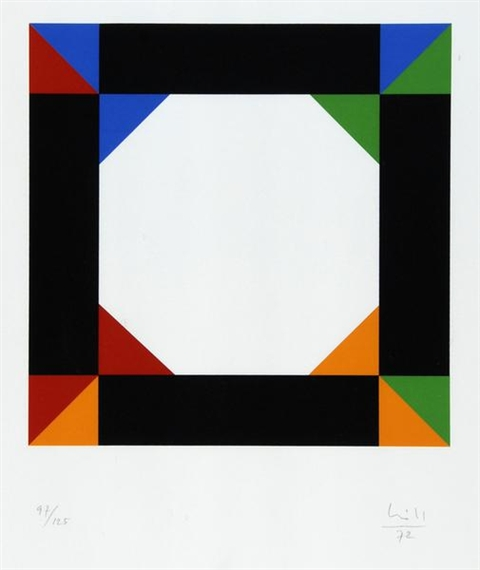 Untitled, 1972 - Макс Билл