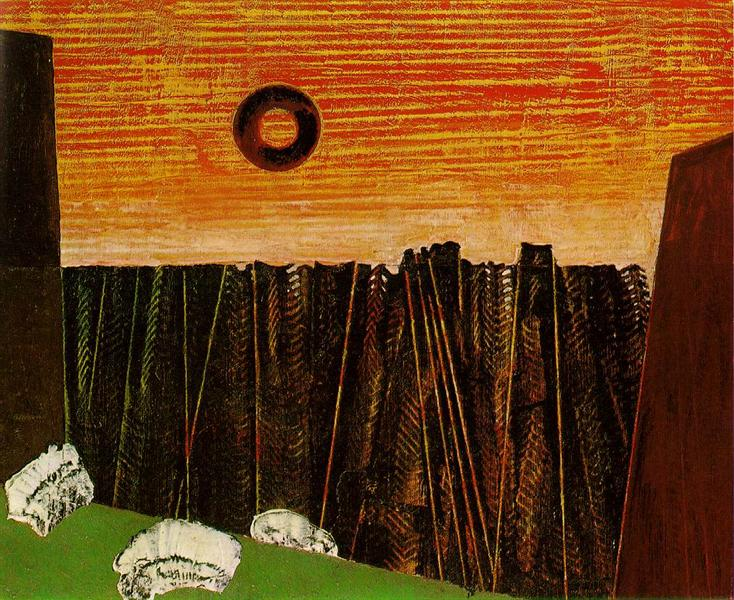 Fishbone Forest, 1927 - Max Ernst