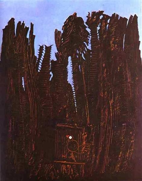 Forest and Dove - Max Ernst