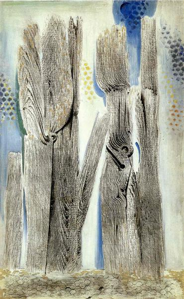 The Blue Forest, 1925 - Max Ernst