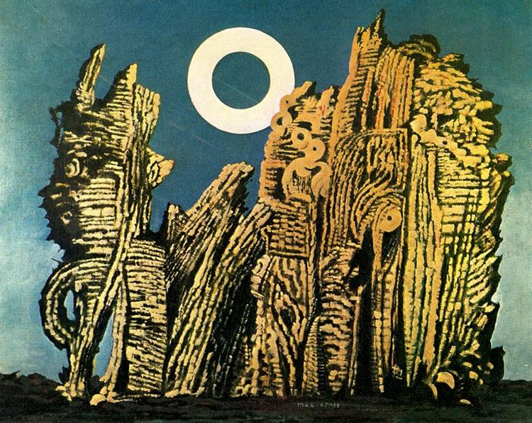 The gray forest, 1927 - Max Ernst
