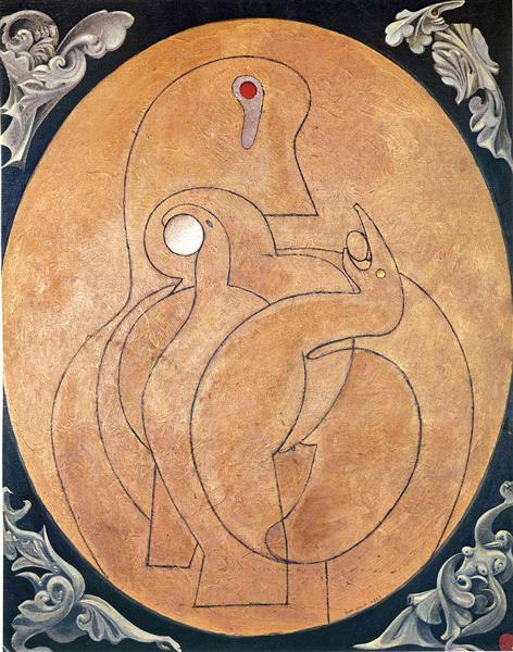 The Inner Vision: The Egg, 1929 - Max Ernst