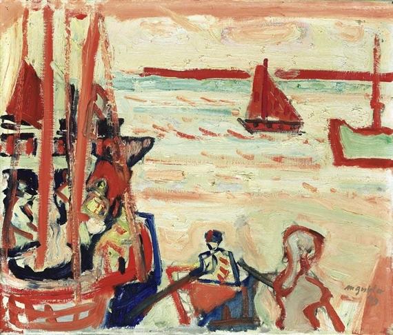 Venice, 1949 - Max Gubler