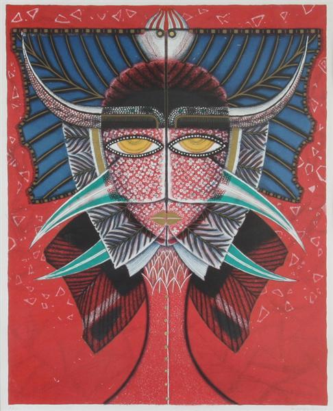 Visionen vecklar ut sitt ansikte, 1956 - Max Walter Svanberg