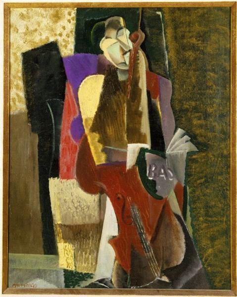 The Cellist, c.1917 - Max Weber