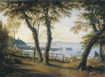 Italian Seaside Landscape - Maxim Nikiforowitsch Worobjow