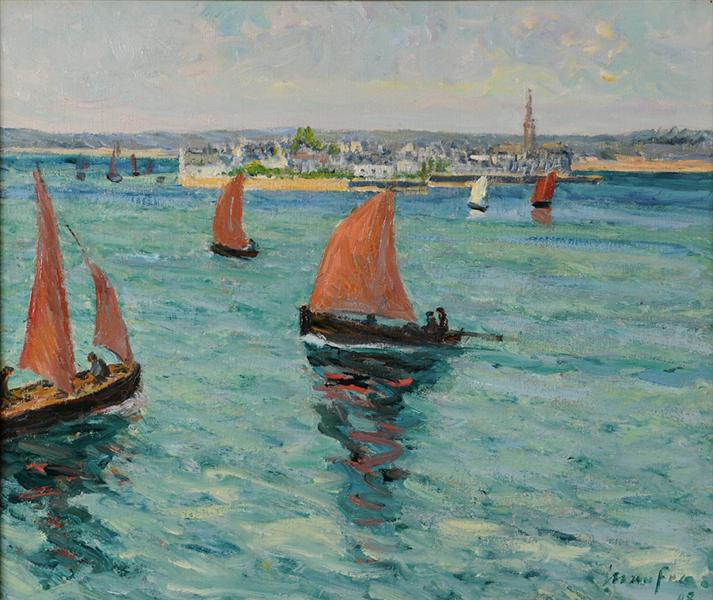 In front of the Isle Tudy - Maxime Maufra