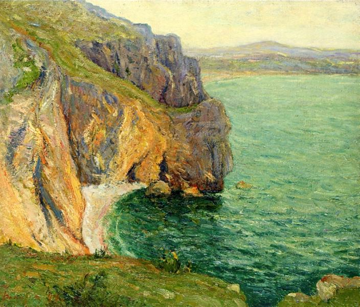 The Cliffs at Polhor, 1899 - Maxime Maufra