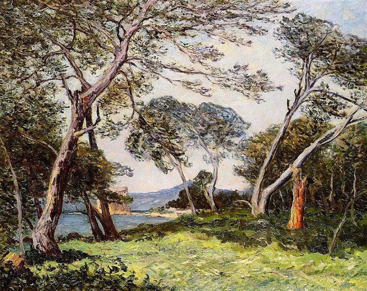 The Pines of the Ile St. Morah, 1912 - Maxime Maufra