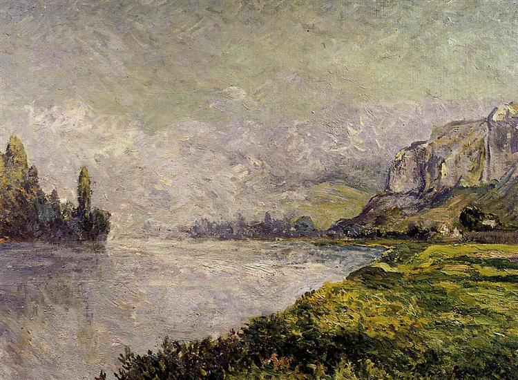 The Retreating Fog, Morning, Les Andelys, 1902 - Maxime Maufra