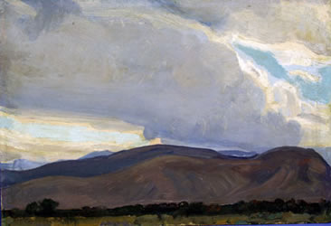 Storm from the Sierra, 1937 - Maynard Dixon