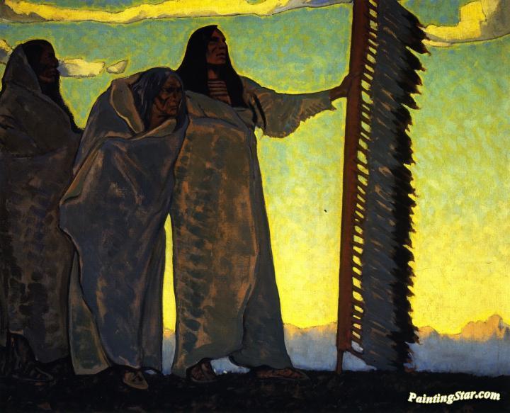 The Ancients, 1922 - Maynard Dixon
