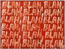 Blah, Blah, Blah - Mel Bochner