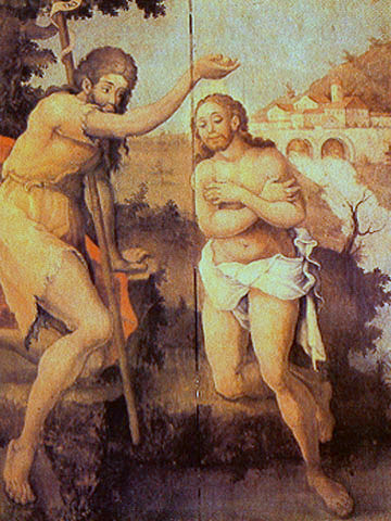 Baptism of Christ - Mestre Ataíde