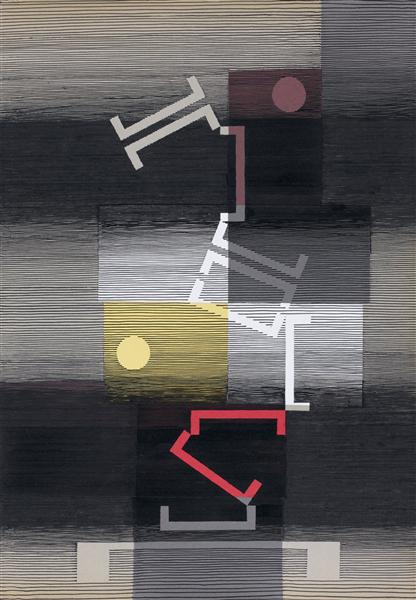 Calme et capricieux, 1972 - Michel Seuphor